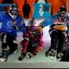 Льодовий даунхіл - екстрим на ковзанах (13 фото)