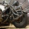 Німецький мотоцикл з двигуном радянського танка (відео + фото)