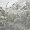 Вражаючі скульптури з паперу від джефу нішінакі (6 фото)