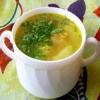Суп картопляний з листям щавлю і шпинату