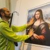 Виставка картин для незрячих людей (6 фото)