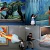 Виставка об`ємних картин в циндао (7 фото)