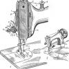 Заправка верхньої нитки і регулювання її натягу